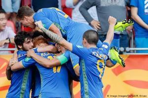 Українця Луніна визнали найкращим воротарем молодіжного ЧС-2019 з футболу