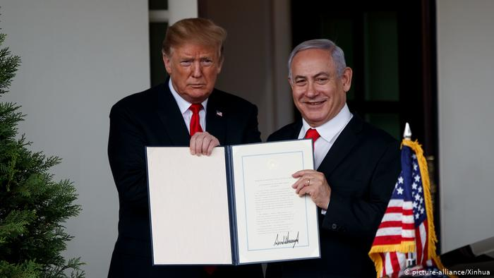 Ізраїль назвав поселення на Голанських висотах на честь Дональда Трампа