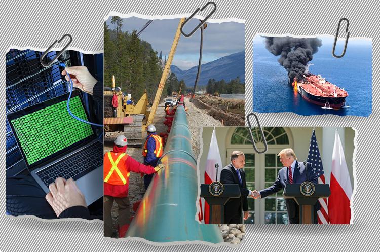 7 днів нафти і газу: «превентивні» кібератаки, згорілий танкер, дружба проти «Газпрому» і нафтопровід як тягар для аборигенів
