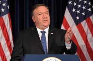 США має намір створити глобальну антиіранську коаліцію – Помпео