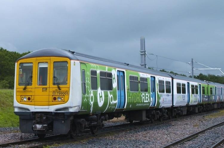 Британія представила свій перший водневий поїзд