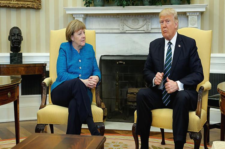 Трамп і Меркель обговорювали ситуацію на Донбасі  та Іран під час G20