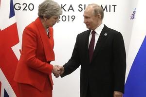 Тереза Мей відкинула пропозицію Путіна відновити відносини з Росією