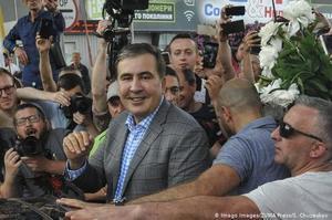 ЦВК внесла партію Саакашвілі у виборчий бюлетень