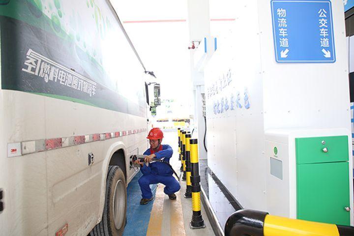 Sinopec збудувала в Китаї першу водневу заправну станцію
