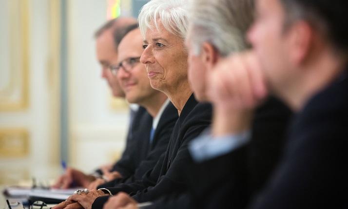 Крістін Лагард тимчасово склала повноваження глави МВФ