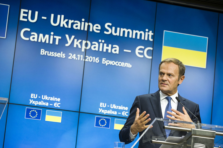 Туск, Юнкер та Могеріні приїдуть до Києва на саміт Україна-ЄС