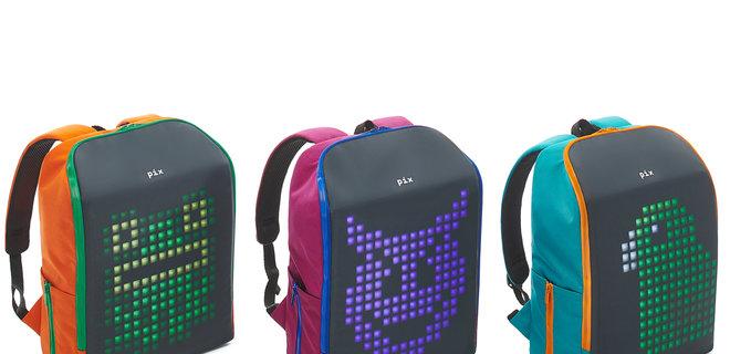 Український стартап Pix зібрав $46 000 на дитячі рюкзаки з анімацією