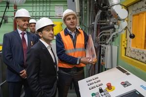 Зеленський відвідав Чорнобиль і назвав важливою проблему зміни клімату