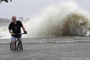 Тропічний шторм обрушився на узбережжя США в Мексиканській затоці