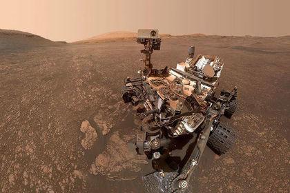 NASA опублікувало фото марсохода Curioisty з орбіти Марса