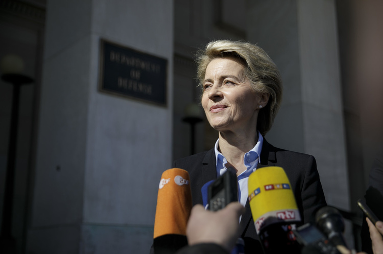 ЄК вперше очолила жінка: Європарламент обрав Урсулу фон дер Ляєн