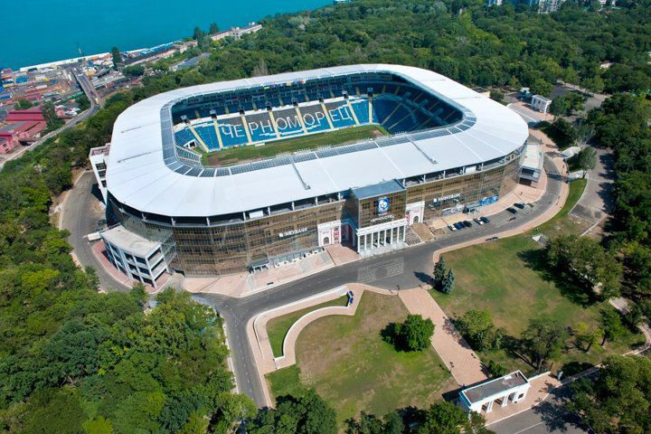 Одеський стадіон «Чорноморець» знов виставлять на продаж