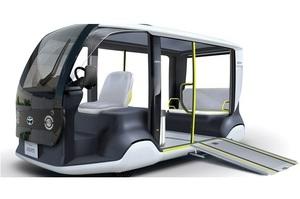 Toyota випустить для гостей і учасників Олімпади-2020 електричні шатли