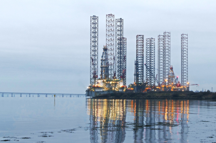Число нафтових бурових установок у США знижується третій тиждень поспіль