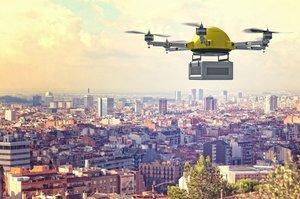 Найбільший в світі сервіс доставки починає використовувати дрони