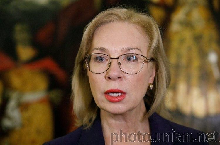 Денісова сподівається на звільнення українських моряків під її особисте зобов'язання