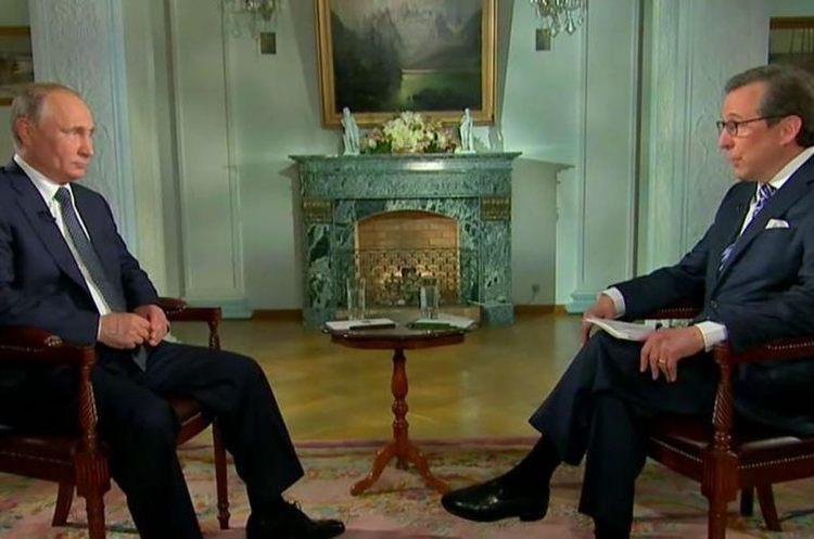 Інтерв'ю Путіна кореспонденту Fox News Уоллерсу номіноване на телепремію «Еммі»