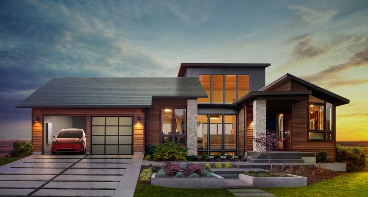 Маск обіцяє, що його компанія випускатиме по 1000 сонячних дахів щотижня до кінця року
