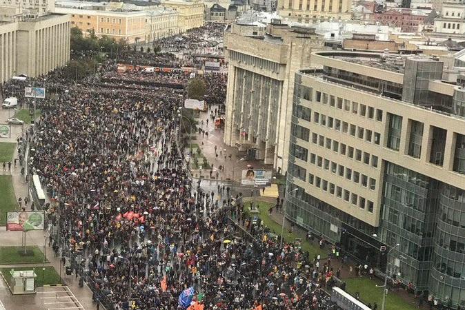 Цього разу без крові: у Москві пройшла узгоджена з владою акція в підтримку кандидатів