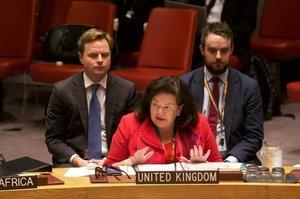 Постпред Великобританії привернула увагу ООН до порушень прав людини в Криму