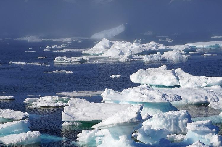 Вчені знайшли частинки мікропластику в арктичній кризі