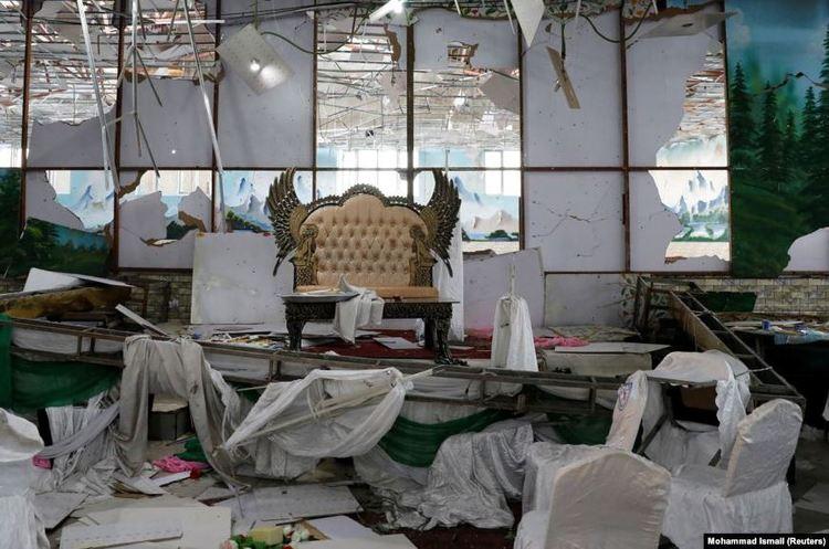Теракт на весіллі в Кабулі: 63 людини загинули, ще 182 – поранені