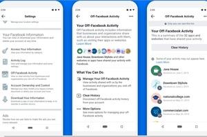 Facebook впроваджує функцію для керування інформацією про себе з інших ресурсів