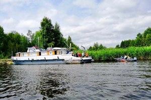 Держгідрографія проводить дослідження на річці Прип'ять