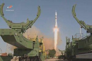 Ракета «Союз» з людиноподібним роботом «Фьодором» стартувала з Байконуру