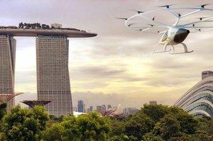 Volocopter продемонструвала своє перше міське аеротаксі (ВІДЕО)