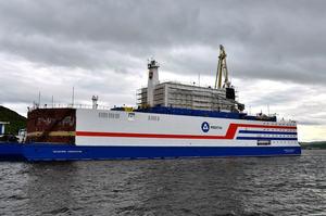 «Плавучий Чорнобиль»: в Росії відправили на Чукотку перший плавучий атомний енергоблок