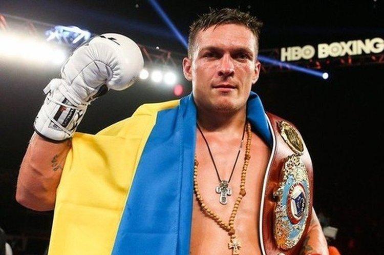 Олександр Усик відмовився від боїв з російськими боксерами