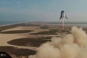 SpaceX успішно випробувала апарат, в якому будуть здійснюватися експедиції на Марс