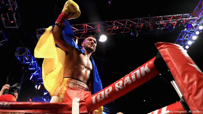 Бокс: Ломаченко переміг Кемпбелла і став чемпіоном світу за версією WBC