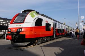 В Австрії випробували акумуляторний еко-поїзд