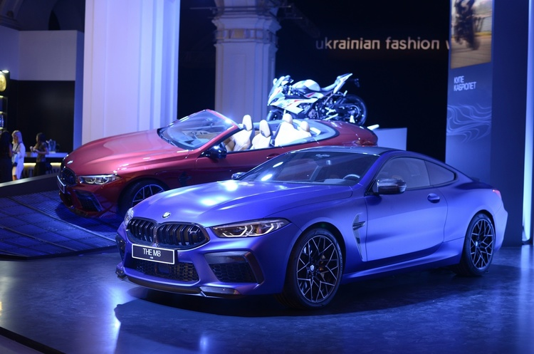 BMW M8: самые яркие модели Ukrainian Fashion Week
