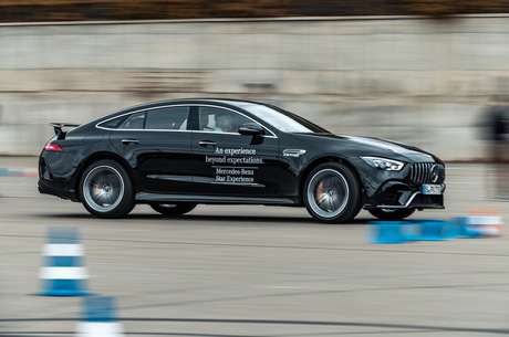 Mercedes-Benz Star Experience: как в Киеве представили новые авто этой марки