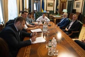 В ОПУ: Зеленський зустрівся з Коломойським