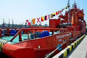 Мінінфраструктури передало ВМС аварійно-рятувальне судно «Олександр Охрименко»