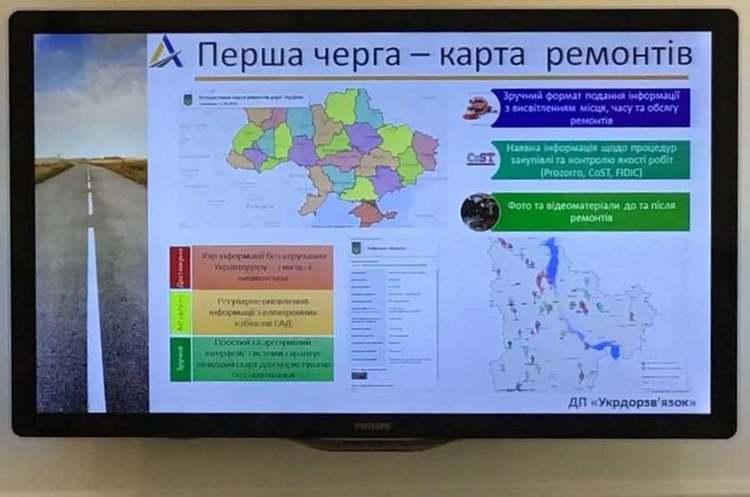 «Укравтодор» запустить сервіс для перегляду ремонту та стану доріг в режимі онлайн