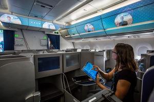Airbus почав тестування «розумного салону» на борту справжнього літака