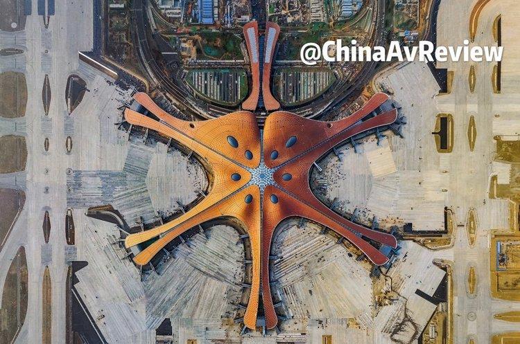 В Китае открылся самый большой в мире аэропорт