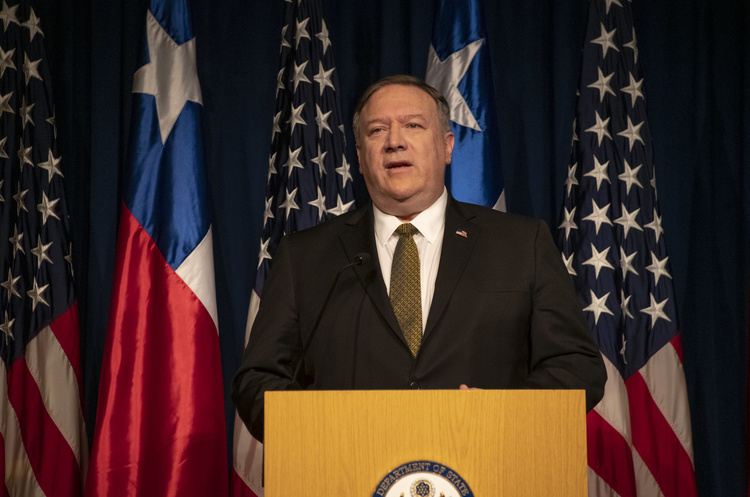 Конгрес США вимагає від Помпео документи про контакти з Україною