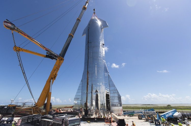 Ілон Маск офіційно представив космічний корабель Starship