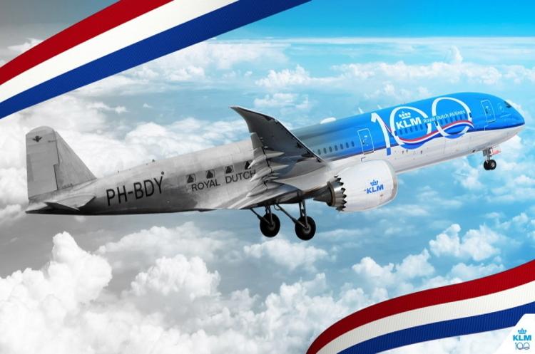 Авіакомпанія KLM: 100-річний союз традицій та інновацій