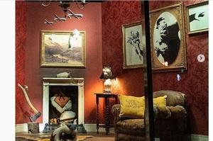 В Лондоні відкрився магазин робіт стріт-художника Бенксі, але купити тут нічого не можна