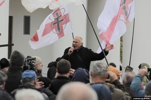 У Мінську сьогодні пройшов мітинг проти можливої інтеграції з Росією