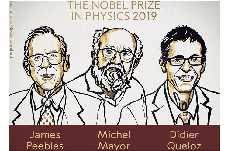Нобелівську премію з фізики присудили за відкриття екзопланети і досягнення в космології