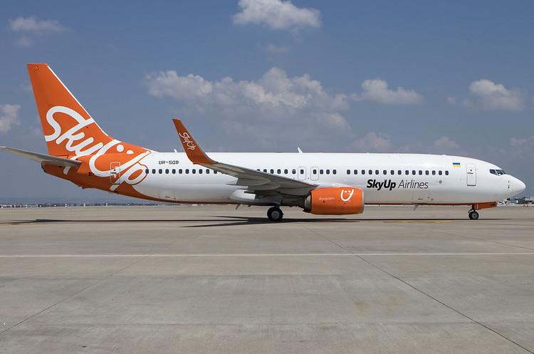 SkyUp збільшила свій флот до 9 літаків